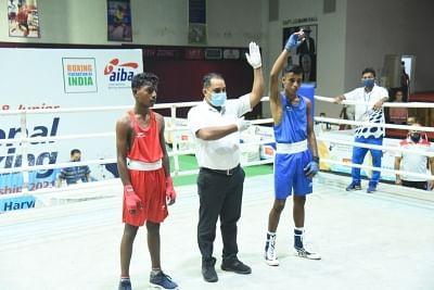 जूनियर बॉक्सिंग चैंपियनशिप : लड़कों के इवेंट में एसएससीबी मुक्केबाजों का दबदबा