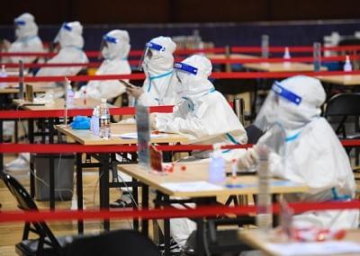 चीन के नानजिंग ने तीसरा न्यूक्लिक एसिड परीक्षण शुरू किया