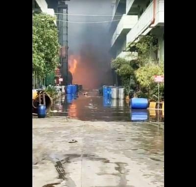 हैदराबाद में केमिकल यूनिट में आग लगने से 3 श्रमिक जख्मी