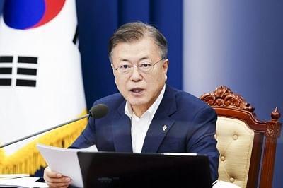 दक्षिण कोरियाई राष्ट्रपति की स्वीकृति रेटिंग गिर रही: सर्वेक्षण