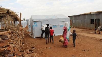 संयुक्त राष्ट्र राहत प्रमुख ने टिग्रे में विस्थापित लोगों के स्थल का दौरा किया