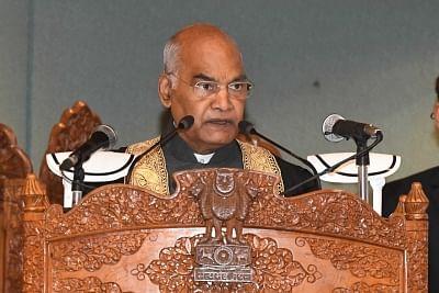 राष्ट्रपति कोविंद ने युवाओं से कहा, हिंसा कभी कश्मीरियत का हिस्सा नहीं रही