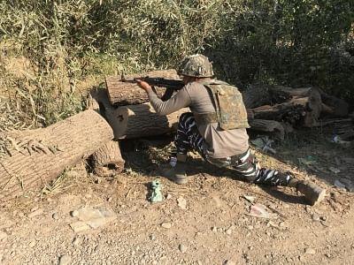 कश्मीर के बांदीपोरा में आतंकियों और सुरक्षाबलों के बीच मुठभेड़