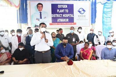 आंध्र के मंत्री ने सोनू सूद द्वारा वित्त पोषित ऑक्सीजन संयंत्र का उद्घाटन किया
