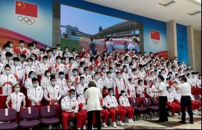 चीन ने टोक्यो ओलंपिक के लिए भागीदारी लक्ष्यों की घोषणा की