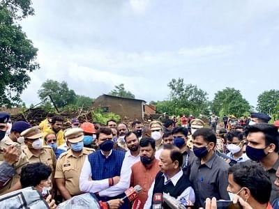 महाराष्ट्र बाढ़ : केंद्रीय मंत्री नारायण राणे ने दिया केंद्र की मदद का आश्वासन