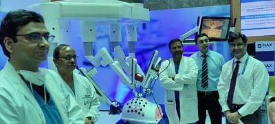 गाजियाबाद: मैक्स अस्पताल में अत्याधुनिक रोबोटिक सर्जरी टेक्नोलॉजी द विन्सी की शुरुआत