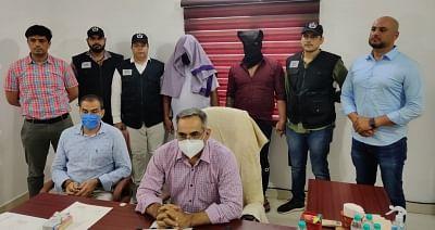 हरियाणा एसटीएफ ने 3 वांछित अपराधियों को पकड़ा