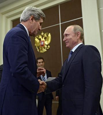केरी और पुतिन ने जलवायु मुद्दों पर सहयोग करने के महत्व पर जोर दिया