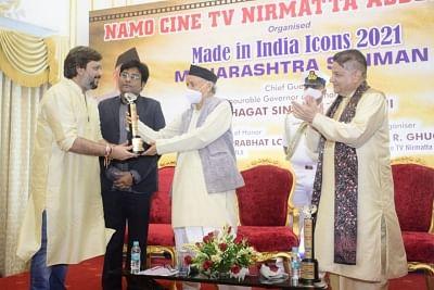 प्लेनेट मराठी के संस्थापक अक्षय बर्दापुरकर को महाराष्ट्र के राज्यपाल ने किया सम्मानित