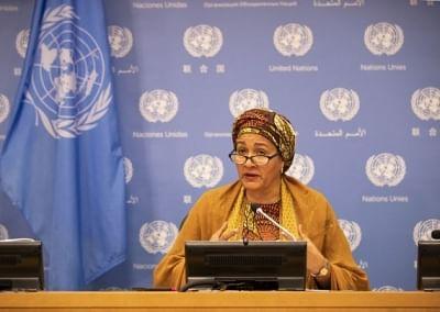 संयुक्त राष्ट्र के उप प्रमुख ने मानवीय संकट में खूनी उछाल की चेतावनी दी