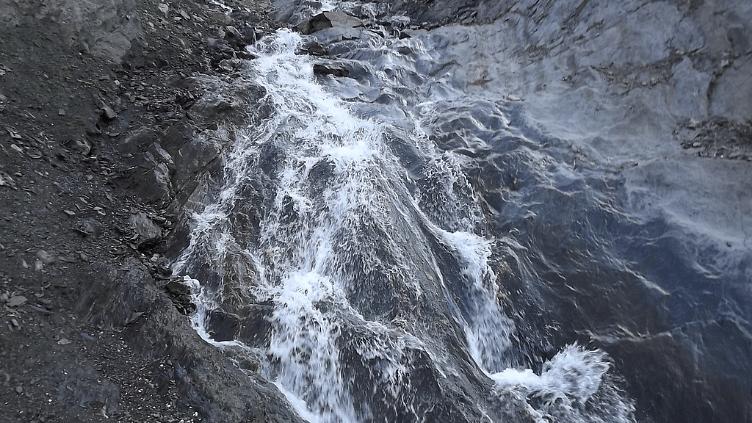 कश्मीर में पवित्र अमरनाथ तीर्थ पर भारी वर्षा