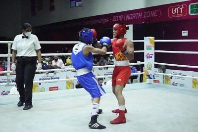 युवा नेशनल मुक्केबाजी चैंपियनशिप में हरियाणा और एसएससीबी का दबदबा कायम