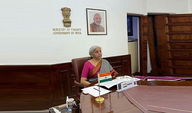 वित्त मंत्री सीतारमण ने CoWIN मंच दूसरे देशों के साथ साझा करने की पेशकश की