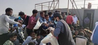 लीबिया के तट से 2,100 से ज्यादा अवैध प्रवासियों को बचाया गया