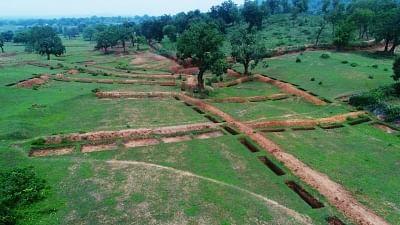 झारखंड: नीलांबर-पीतांबर जल समृद्धि योजना से बंजर जमीन में हो रही बागवानी