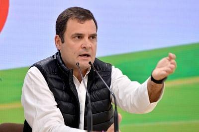 जासूसी कांड को लेकर लोकसभा में स्थगन प्रस्ताव लाएंगे राहुल गांधी