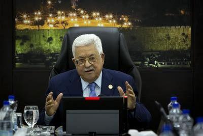 अब्बास ने निवर्तमान इजराइली राष्ट्रपति से बात की