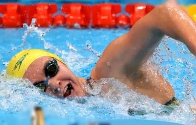 ओलंपिक (तैराकी) : ऑस्ट्रेलिया की टिटमस ने जीता 400 मीटर फ्रीस्टाइल में स्वर्ण पदक