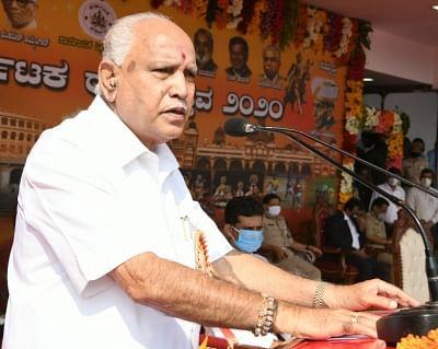 येदियुरप्पा ने कर्नाटक के राज्यपाल को सौंपा इस्तीफा (लीड-1)