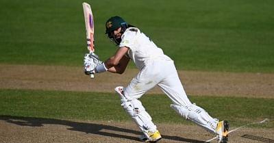 वार्म-अप : हमीद ने टन बनाम भारतीयों के साथ इंग्लैंड कॉल-अप का जश्न मनाया