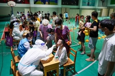 चीनी शहर ने न्यूक्लिक एसिड टेस्टिंग किया शुरू