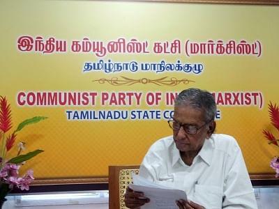 दिग्गज कम्युनिस्ट नेता शंकरैया को मिलेगा पहला थगैसल थमिझार पुरस्कार