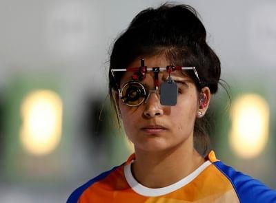 ओलंपिक (निशानेबाजी) : मनु और राही बाहर