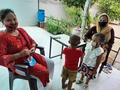 कारगिल युद्ध के दौरान सेवाएं दे चुकी डॉ मेजर प्राची ने स्वास्थ कर्मियों के लिए घर में ही शुरू की ओपीडी