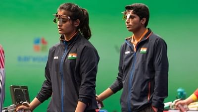 ओलंपिक (निशानेबाजी) : सौरव, मनु, अभिषेक और देसवाल ने मिश्रित टीम इवेंट में किया निराश