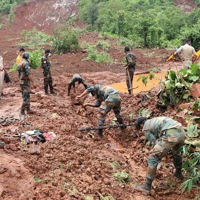 सशस्त्र बलों ने महाराष्ट्र, कर्नाटक, गोवा में राहत कार्यो के लिए तैनाती बढ़ाई