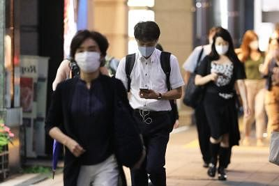 टोक्यो में लगातार सातवें दिन कोविड -19 मामले 1,000 से अधिक