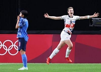ओलंपिक (महिला फुटबाल) : स्वीडन, ब्रिटेन क्वार्टर फाइनल में