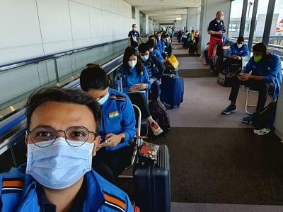 ओलंपिक: भारोत्तोलक मीराबाई ने अभ्यास शुरू किया, निशानेबाज और रोवर्स टोक्यो पहुंचे