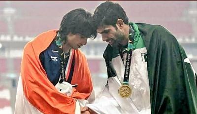 पाकिस्तान के जेवलिन थ्रो खिलाड़ी नदीम ने चोपड़ा को दी बधाई, देशवासियों से मांगी माफी