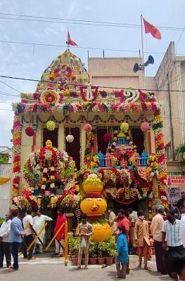 पुराने हैदराबाद में धूमधाम से मनाया गया बोनालू