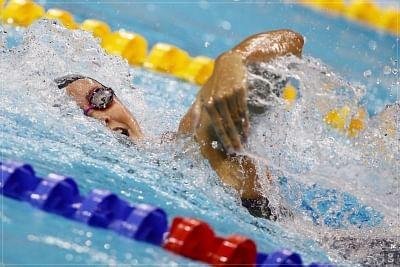 ओलंपिक  (तैराकी) : ड्रेसेल ने पुरुषों की 50 मीटर फ्ऱीस्टाइल का स्वर्ण जीता