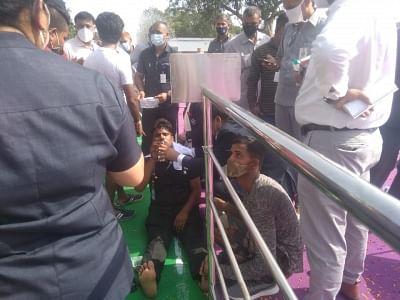 लाल किले पर पीएम की सुरक्षा में तैनात जवान बेहोश, अस्पताल ले जाया गया