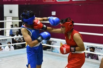 हरियाणा की  मुक्केबाजों ने चौथी जूनियर बालिका राष्ट्रीय चैंपियनशिप में 10 स्वर्ण पदक जीते (लीड-1)
