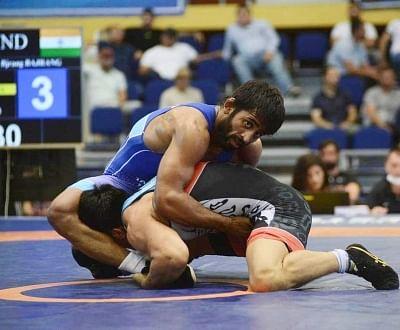 ओलंपिक (कुश्ती) : बजरंग ने 65 किग्रा फ्रीस्टाइल में भारत के लिए जीता कांस्य (लीड-1)