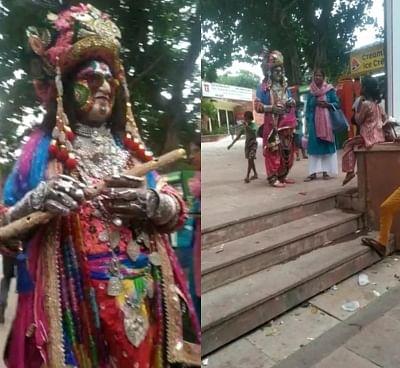 श्रीकृष्ण के वेश में आए आगंतुक को ताजमहल में प्रवेश करने से रोका गया