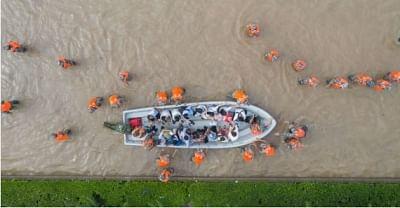 चीन में भारी बारिश के लिए अलर्ट जारी