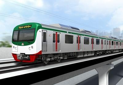 बांग्लादेश की पहली मेट्रो रेल का ट्रायल रन किया गया