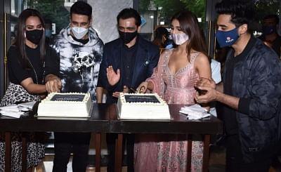अक्षय कुमार, वाणी कपूर ने राजधानी में बेल बॉटम के ट्रेलर लॉन्च का जश्न मनाया