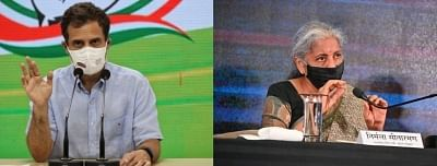 निर्मला सीतारमण ने एनएमपी पर राहुल को दिया जवाब : कुछ भी नहीं बेचा जाएगा