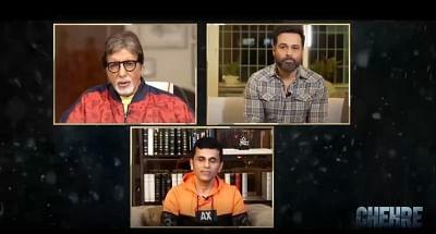 फिल्म चेहरे की कहानी से आकर्षित हुए अमिताभ बच्चन