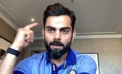 टीम इंडिया स्कोर बोर्ड के दबाव में आ गई : कोहली