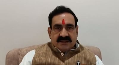 विपदा के समय कांग्रेस राजनीति न करे : डा नरोत्तम मिश्रा