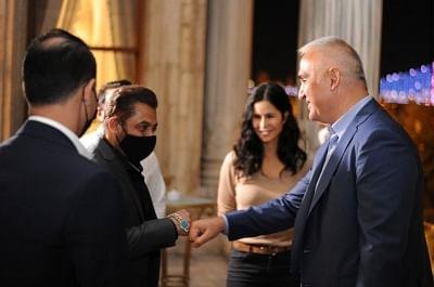 सलमान, कैटरीना ने तुर्की के मंत्री से की मुलाकात