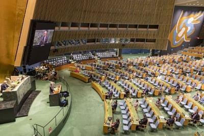 संयुक्त राष्ट्र महासभा  के 76वें सत्र में 83 राष्ट्राध्यक्षों के भाग लेने की उम्मीद
